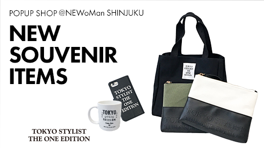 """NEW SOUVENIR ITEMS@POPUP SHOP NEWoMan SHINJUKU"