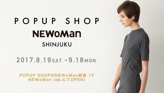 POPUP SHOP @NEWoMan SHINJUKU