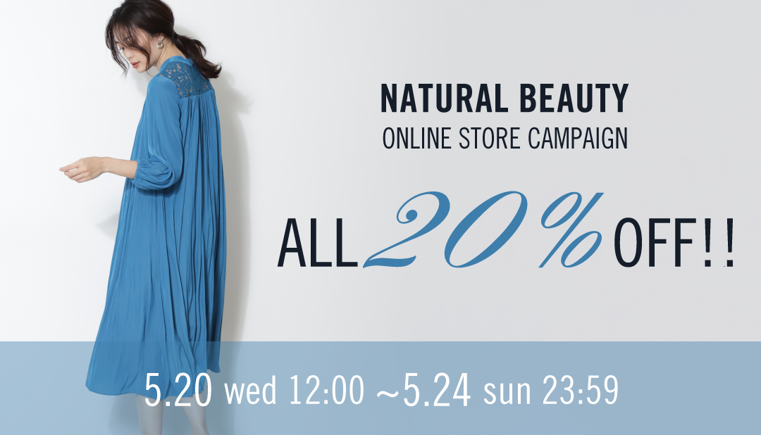 ALL20%OFF TIME SALE!!