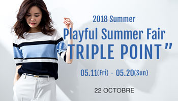 "2018 Playful Summer Fair ""TRIPLE POINT"""